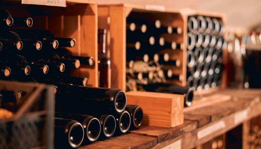 produzione di vino amarone a timoline di corte franca